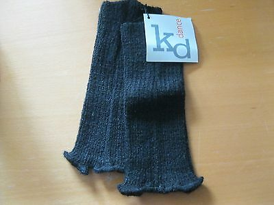 "KD Dance Toddler Legwarmers-Black-8""-NWT"