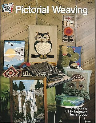 Pictorial Weaving Vintage Pattern Instruction Technique Book Vintage 1978 NEW