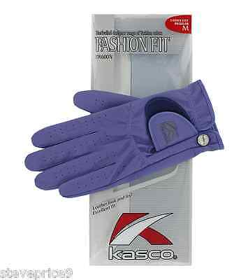Kasco Ladies Amethyst Fashion Fit Golf Glove. Extra Large.