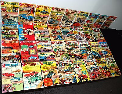 Charlton Hot Rods And Racing Cars #61-120 Mid Grade Partial Set L47