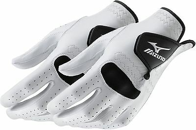 2 NEW Mizuno PRO Mens Golf Gloves Size Medium-Large Regular Left Hand ML 2016