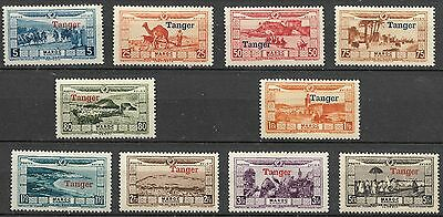 France Colonies Neuf*  Maroc Tanger Pa Serie N° 22 A 31