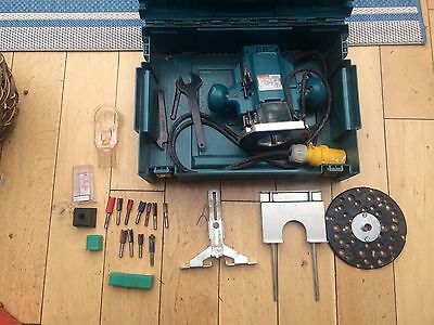 Makita 3620 Router With Bits And Extras