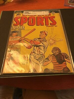 Babe Ruth Sports (1949) #9 FN- 5.5 Hard to find Very Nice Golden Age Sports
