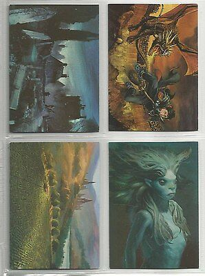2006 Harry Potter: Goblet of Fire (Update) BOX TOPPER Set of 4 Cards (BT1-BT4)