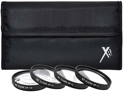49mm Macro Closeup Lens Filter Set (+1+2+4+10) For Sony A3000 NEX-5 NEX-7 & more