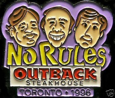 A2125 Outback Steakhouse Toronto 1996