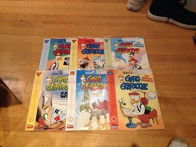 Gyro Gearloose 1-6 Carl Barks Library NM