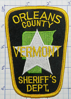 Vermont, Orleans County Sheriff's Dept Patch