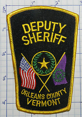 Vermont, Orleans County Deputy Sheriff Patch