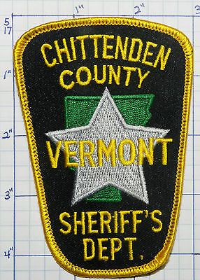 Vermont, Chittenden County Sheriff's Dept Patch