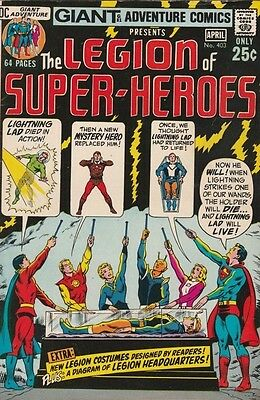 Adventure Comics 403 strict 1971 NM- High-Grade The Legion Of Super-Heroes  Wow