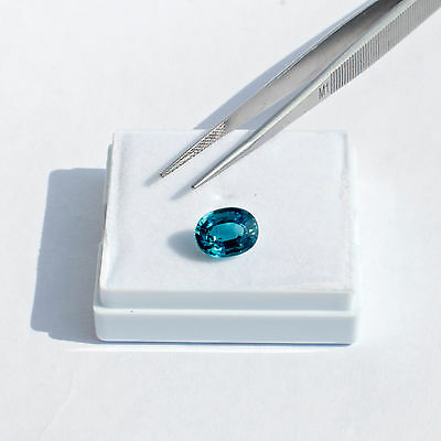 Top Colour Natural Cambodian Blue Zircon (6,53cts)
