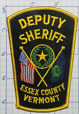 Vermont, Essex County Deputy Sheriff Patch