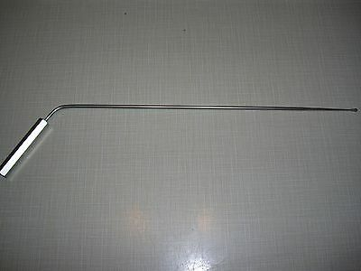 Karl Storz 8596D Laryngeal Probe Straight Sheath Angled 20Cm Stainless Steel