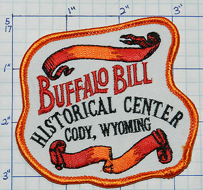 Wyoming, Cody, Buffalo Bill Historical Center Souvenir Travel Patch