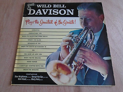 Wild Bill Davison Plays the Greatest of the Greats LP (Vogue) 1958