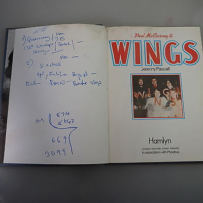 Jeremy Pascall: Paul McCartney Wings 1977 (42070)