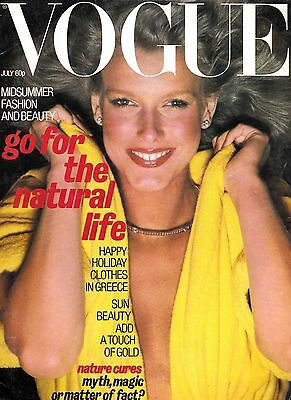 """VOGUE - July 1977 - Birthday Vogue's @ """"THE PAST IN VOGUE"""" & Free Giftwrap"""