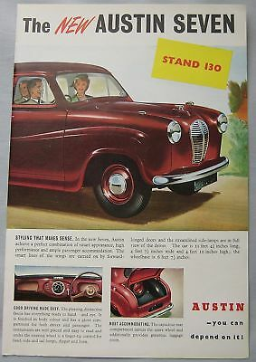 1951 Austin Seven Original advert