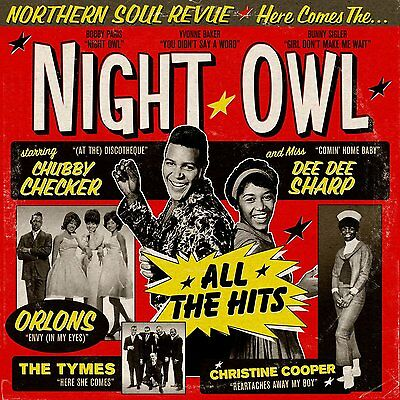 "Night Owl  ""northern Soul Review""  16 Stunning Tracks  Limited Edition"