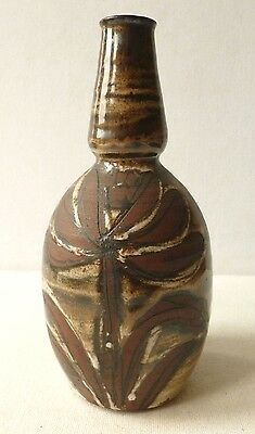 Briglin Pottery - unusual hand painted studio pottery vase