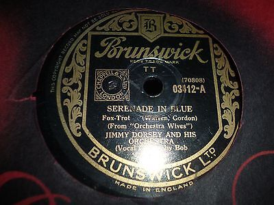 """Collection Bundle of 5x Various JAZZ 10"""" 78RPM Gramophone Records 4/6"""