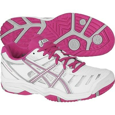 Womens Ladies Girls asics Gel Challenger 9 Tennis Court Shoes Trainers Size 5 7