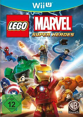 Lego Marvel Super Heroes Nintendo Wii U NEUF + EMBALLAGE ORIGINAL