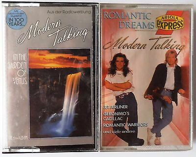 Modern Talking Kassetten Sammlung / 2 MC's