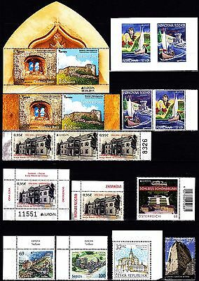 EUROPA CEPT - 2017 - 53 Different Complete Countries - (See 10 scan) ** MNH