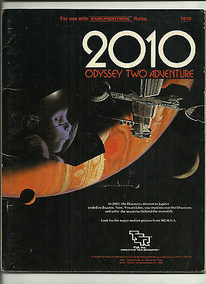Tsr, Star Frontiers Rpg - 2010 Odyssey Two Adventure