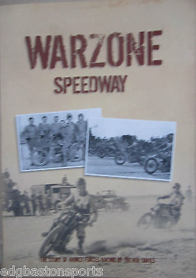 Warzone Speedway The Story of Armed Forces Racing by Trevor Davies