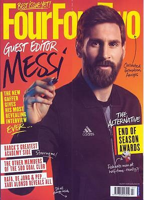 Four Four Two Magazine (July 2017) Guest Editor Lionel Messi ...new