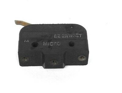 Honeywell Micro Switch Bz-2Rw82T Basic Switch, Roller Lever, Spdt, 15A, 480V