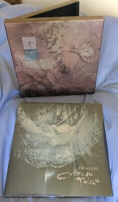 COCTEAU TWINS - TREASURE - DELUXE BOX SET VINYL. 23 ENVELOPE. NEW. RARE. 180g.