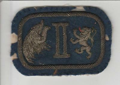 Bullion WW 1 US Army 2nd Corps Patch Inv# S504