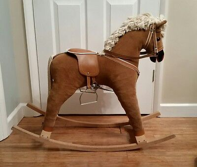 Beautiful Vintage Traditional Childs Rocking Horse