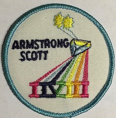 Gemini Mission, Gemini 8 Patch NASA Armstrong Scott