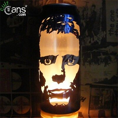 Happy Mondays 'Bez' Beer Can Lantern! Madchester Pop Art Candle Lamp