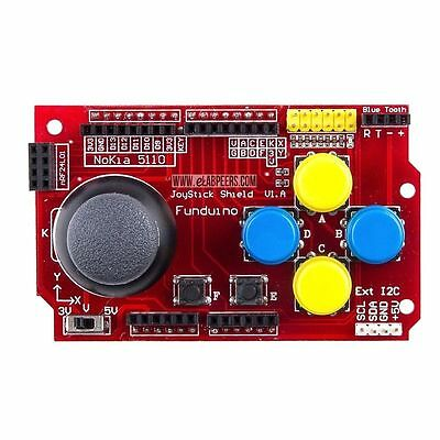 Nokia 5110 LCD I2C JoyStick Keypad Shield Gamepads for Arduino nRF24L01 3.3-5V
