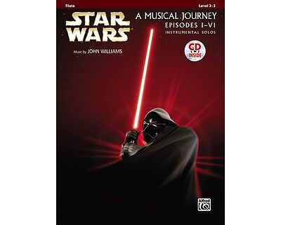 Alfred Star Wars Flute Solos (Movies I-VI) Book & CD