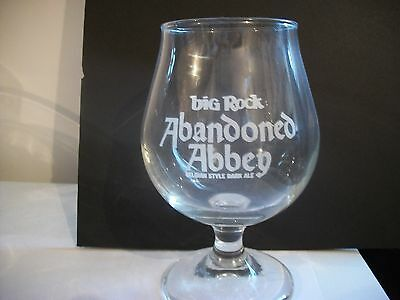Rare- Abandoned Abbey- Big Rock Beer Glass