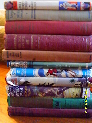 19 x OLD / ANTIQUATED CHILDREN'S BOOKS - JOB LOT - HARDBACK HB - COLLECTION ONLY