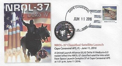 2016 NROL-37 Classified Satellite Launch Cape Canaveral 11 June