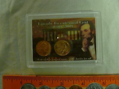 2009 P&d Formative Years Lincoln Bicentennial Cent Set In Colorful 2X3 Holder