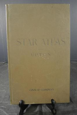 Antique Book  * Star Atlas by Winslow Upton 1896