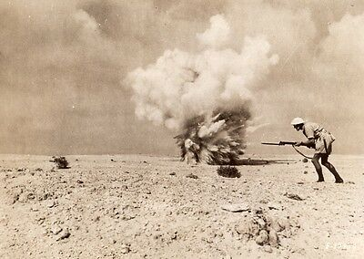 Africa Maghreb or Middle East? British Indian Soldier WWII WW2 Old Photo 1941