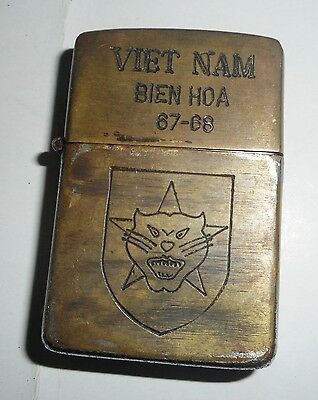 1967 - Original Zippo Lighter - Tiger Force Ranger Airborne - Vietnam War, 8753