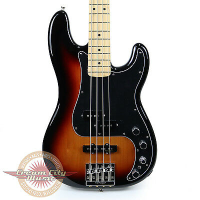 Brand New Fender Deluxe Active Precision Bass Special 3 Color Sunburst Demo